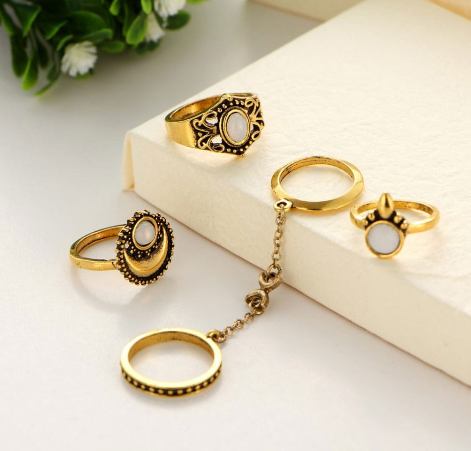 M0345 gold1 Jewelry Sets Rings maureens.com boutique