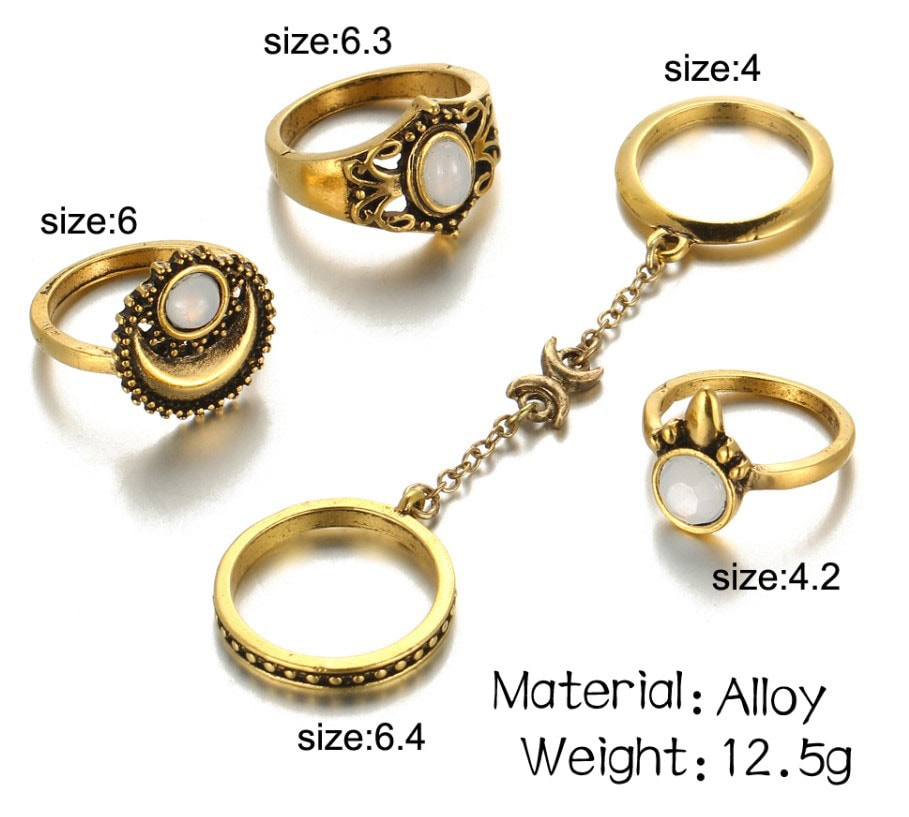 M0345 gold7 Jewelry Sets Rings maureens.com boutique