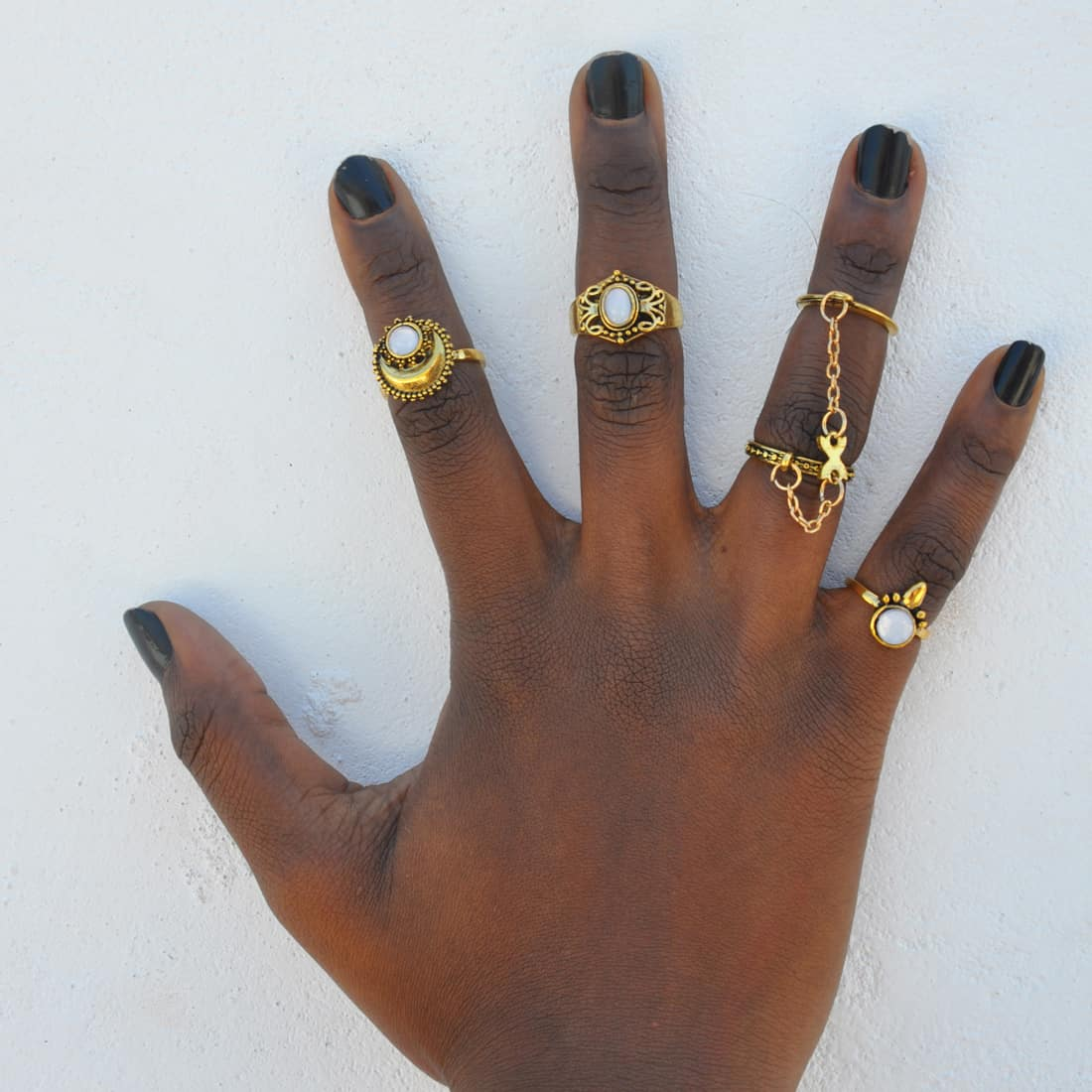 M0345 gold8 Jewelry Sets Rings maureens.com boutique