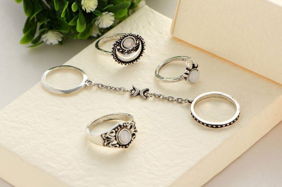 M0345 silver2 Jewelry Sets Rings maureens.com boutique