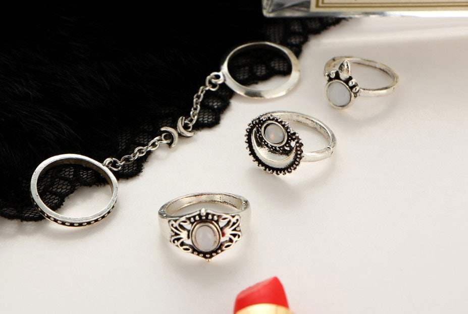 M0345 silver3 Jewelry Sets Rings maureens.com boutique