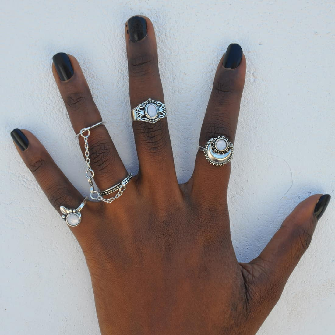 M0345 silver6 Jewelry Sets Rings maureens.com boutique