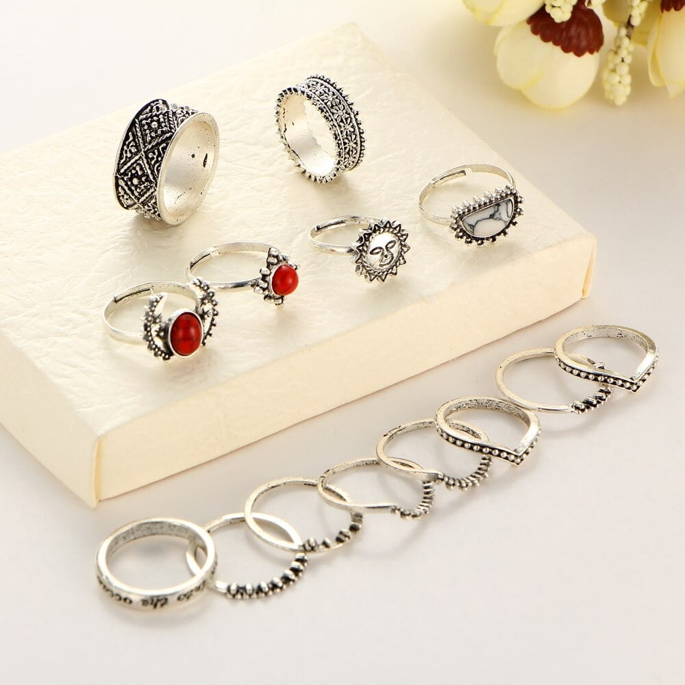 M0346 silver1 Jewelry Sets Rings maureens.com boutique