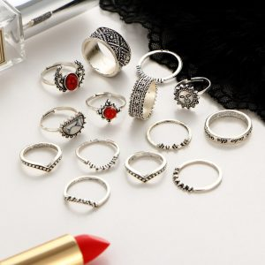 M0346 silver2 Jewelry Sets Rings maureens.com boutique
