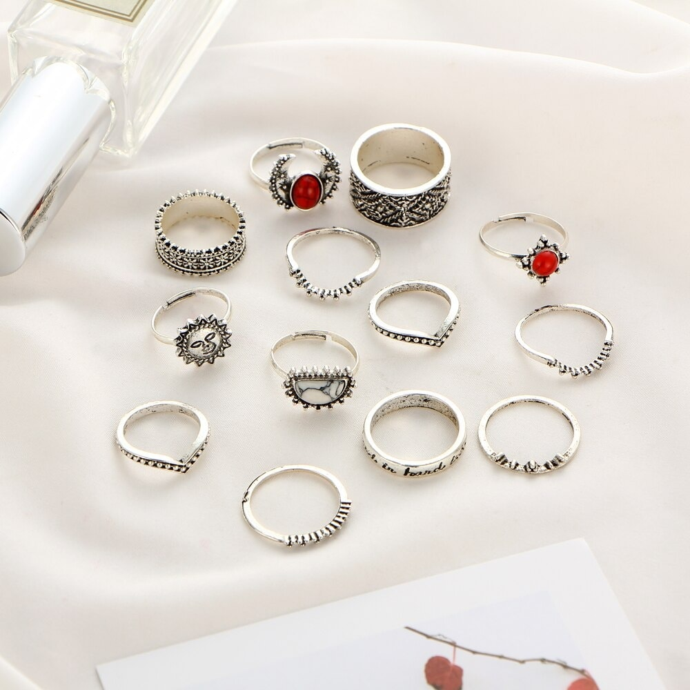 M0346 silver3 Jewelry Sets Rings maureens.com boutique
