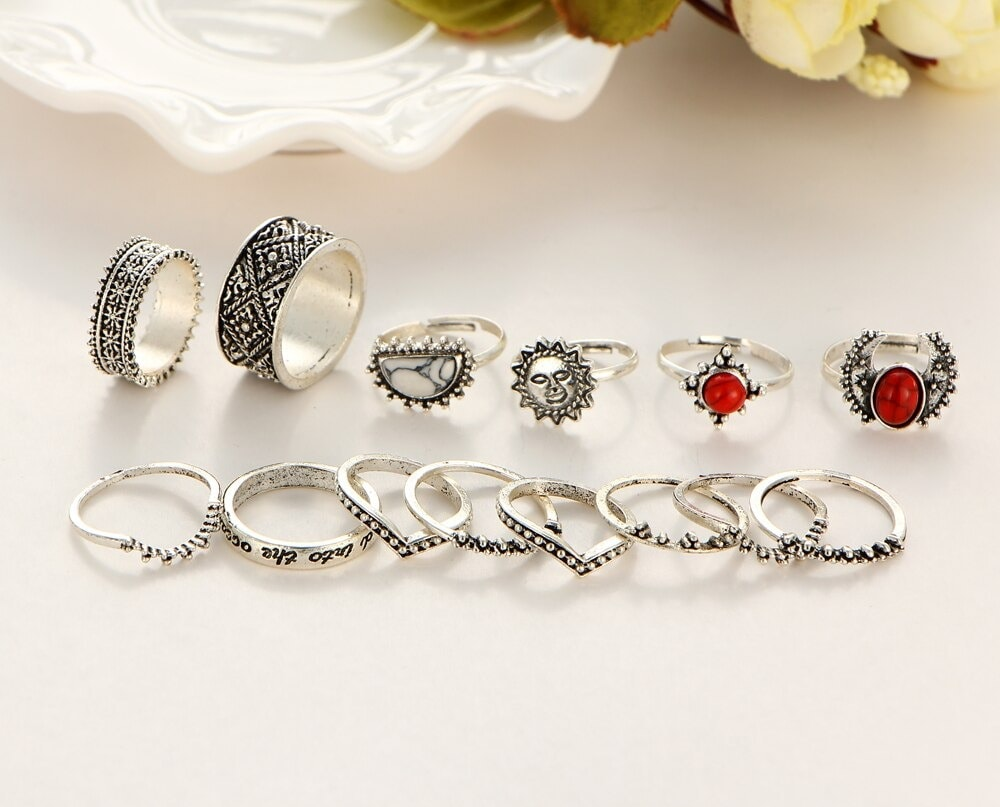 M0346 silver4 Jewelry Sets Rings maureens.com boutique