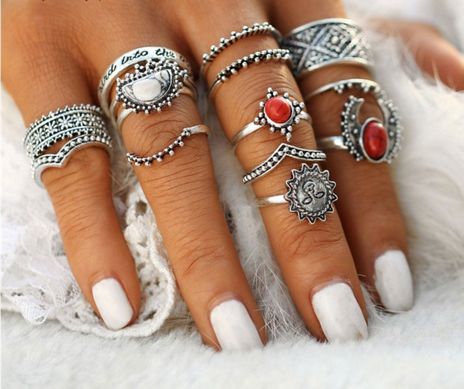 M0346 silver6 Jewelry Sets Rings maureens.com boutique