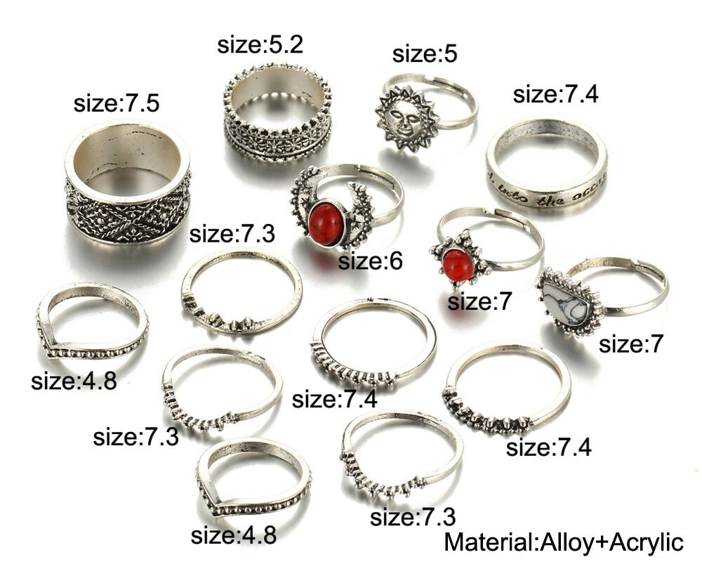 M0346 silver9 Jewelry Sets Rings maureens.com boutique