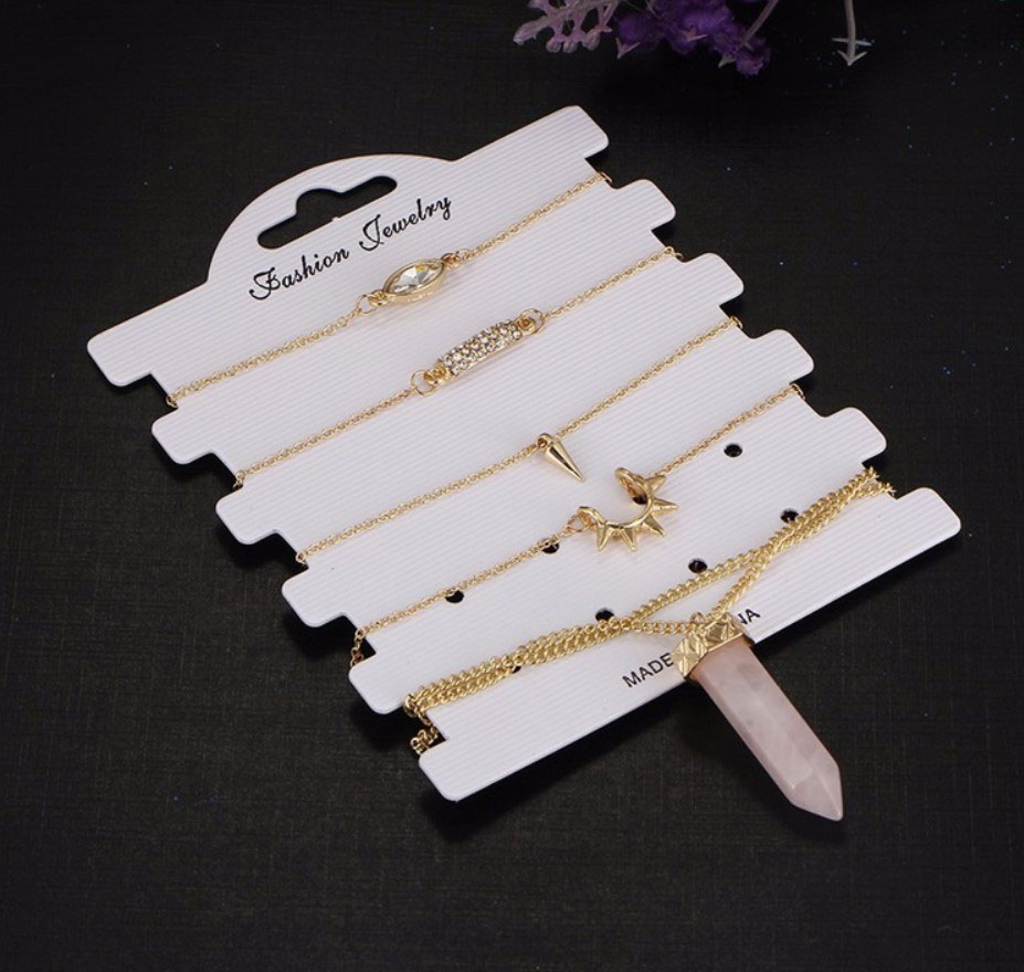 M0347 gold2 Jewelry Sets Necklaces Chokers maureens.com boutique