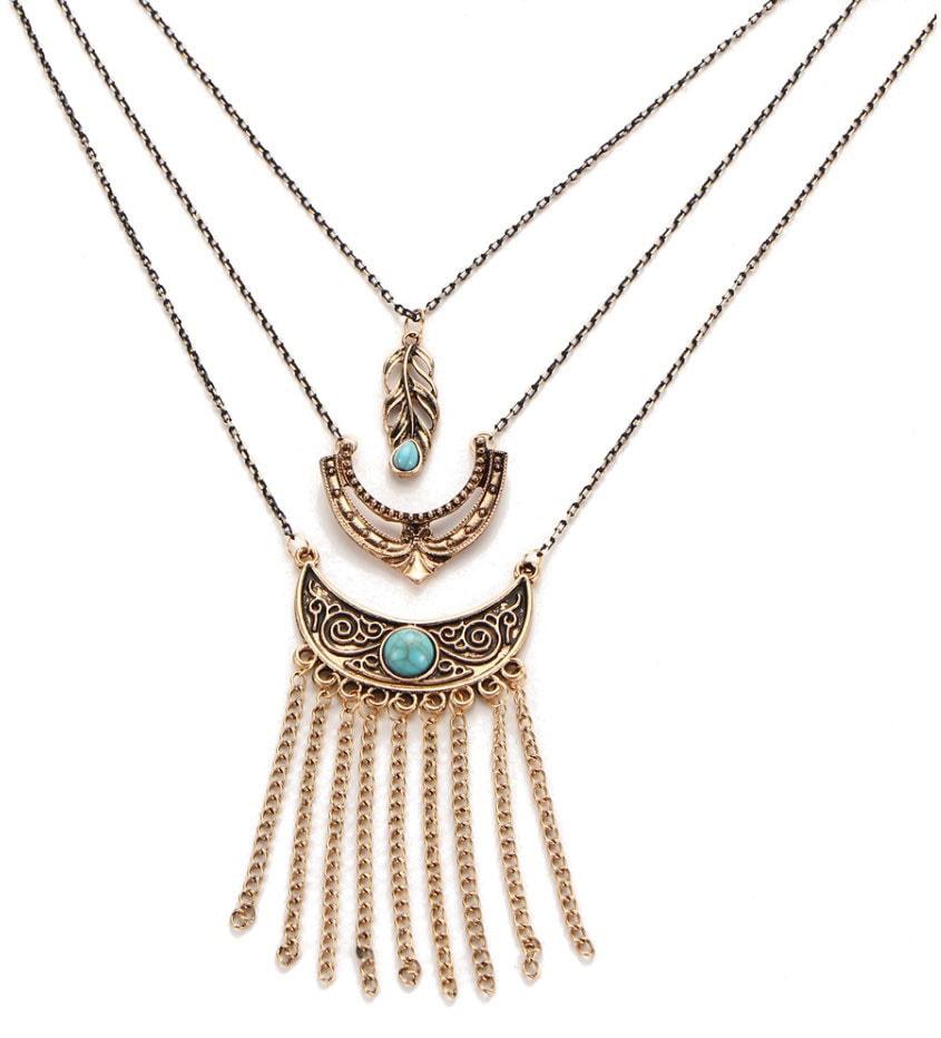 M0348 antique2 Jewelry Accessories Necklaces Chokers maureens.com boutique