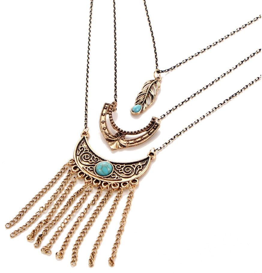 M0348 antique3 Jewelry Accessories Necklaces Chokers maureens.com boutique