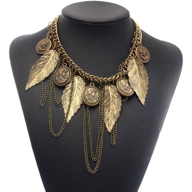M0349 antique1 Jewelry Accessories Necklaces Chokers maureens.com boutique
