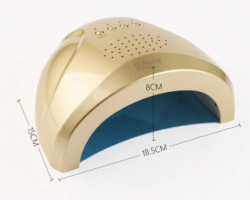 M0351 gold3 Beauty Nail Hair UV Nail Dryers maureens.com boutique