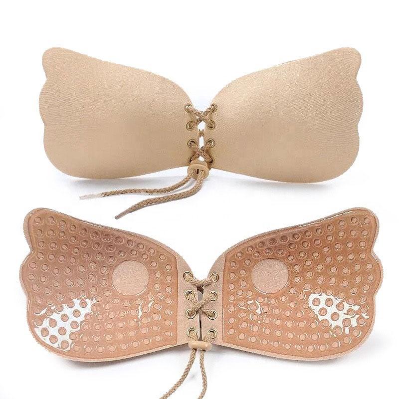 M0353 beige1 Underwear Shapewear Bras Push Ups Breast Forms maureens.com boutique