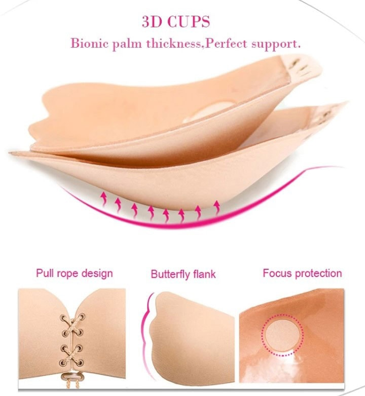 M0353 beige12 Underwear Shapewear Bras Push Ups Breast Forms maureens.com boutique