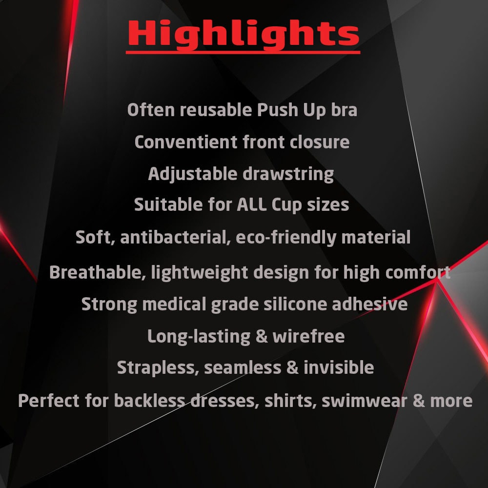 M0353 black7 Underwear Shapewear Bras Push Ups Breast Forms maureens.com boutique