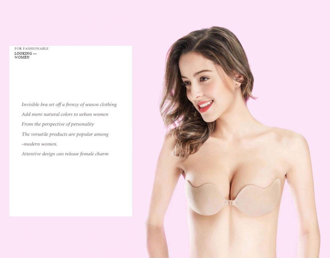 M0354 beige16 Underwear Shapewear Bras Push Ups Breast Forms maureens.com boutique
