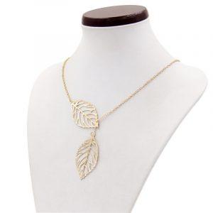Promo Leaf Necklace maureens.com