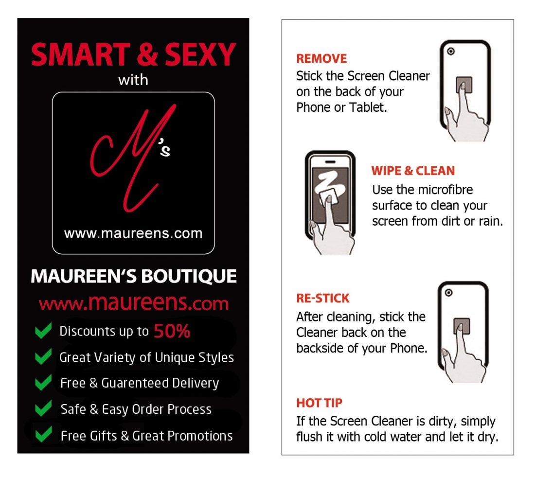 Screen Cleaner (black) maureens.com