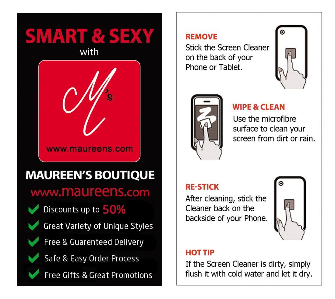 Screen Cleaner (red) maureens.com