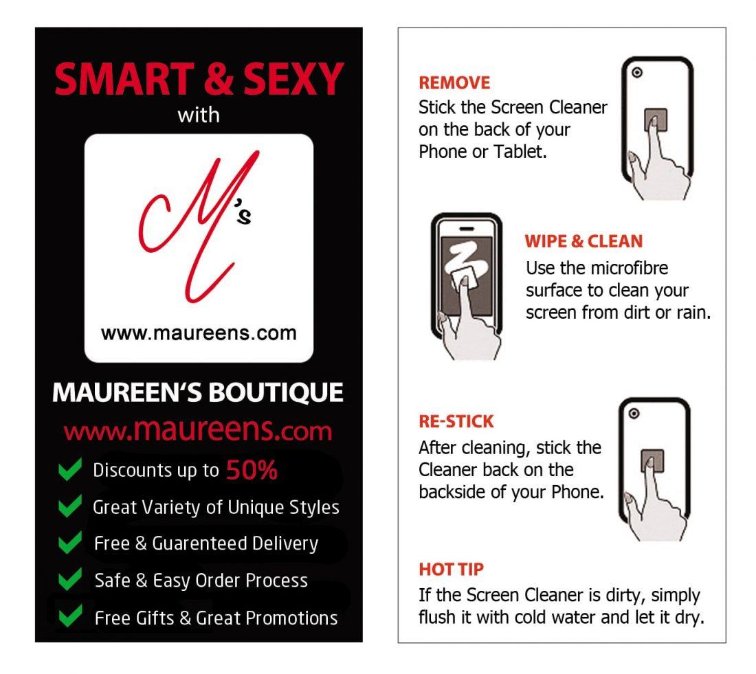 Screen Cleaner (white) maureens.com