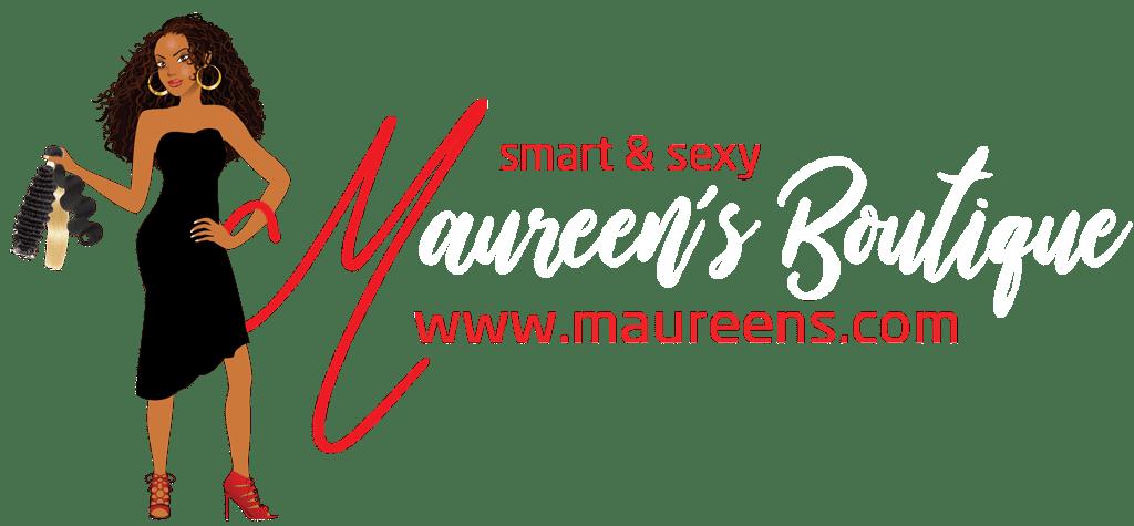 maureens.com affordable real human hair wigs logo
