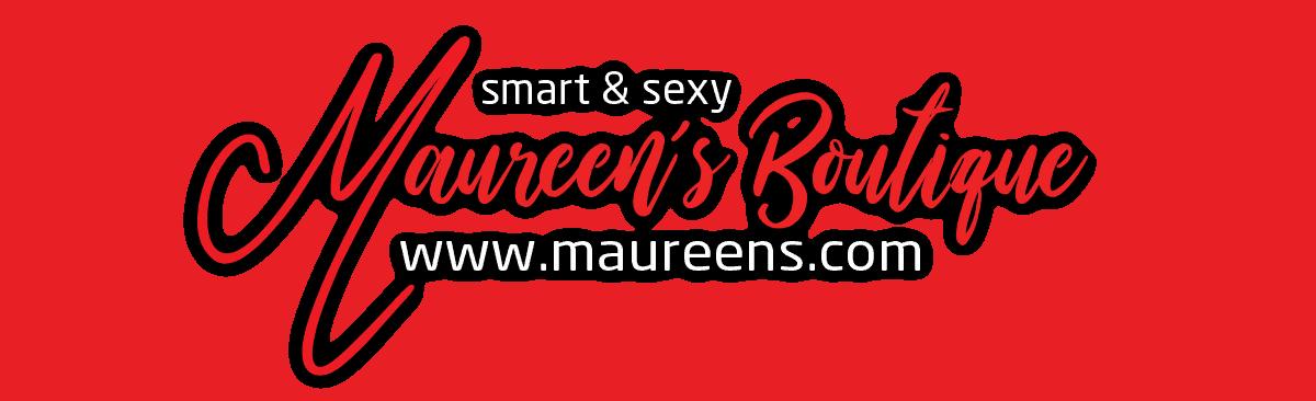 maureens.com logo footer section