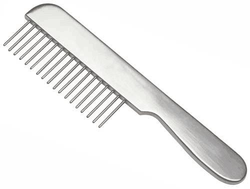 metal wide tooth comb maureens.com boutique